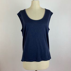Athleta Navy Blue Workout Top